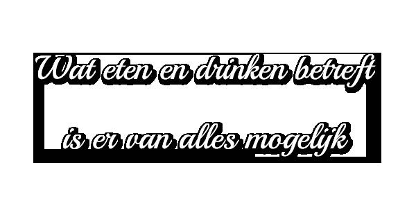 eten drinken
